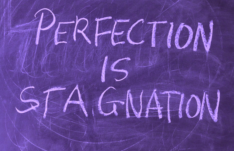 overcoming perfectionism to build momentum